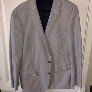 JCREW Seersucker Suit